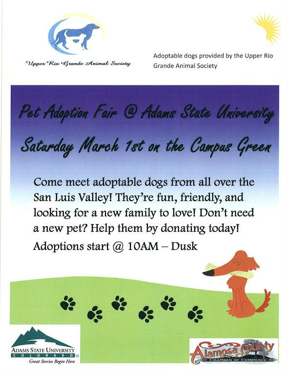 140228 Pet Adoption Fair at ASU March 1st